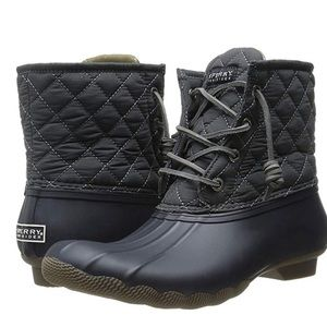 SPERRY TOP SIDER Rain Boots  Quilted Nylon | 11